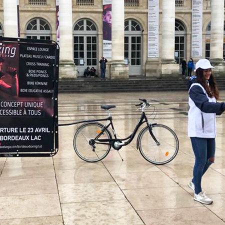 axelvega affichage mobile street marketing Keemia Bordeaux Agence marketing local en region Aquitaine
