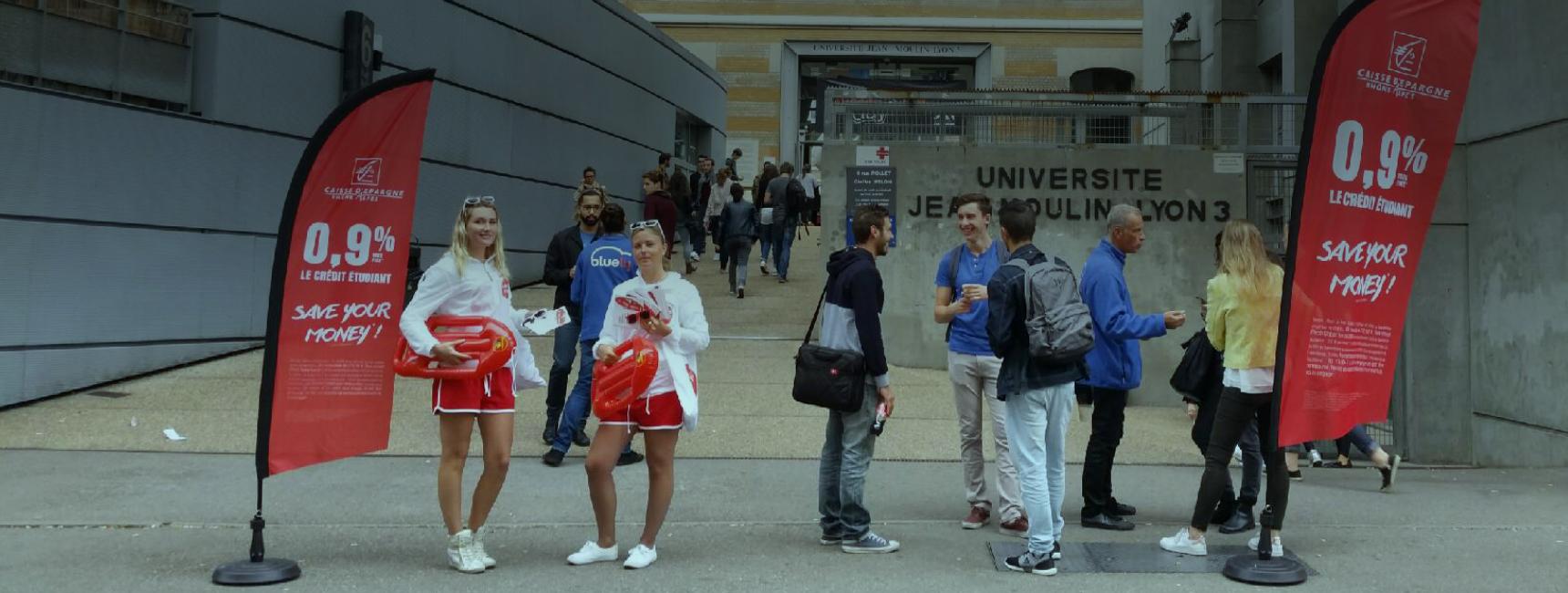 Campus Media, communiquez aupres des etudiants - Keemia Bordeaux Agence marketing local en région Aquitaine