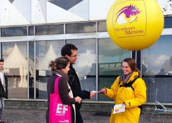 Olympiade des metiers Street marketing Keemia Bordeaux Agence marketing local en region Aquitaine