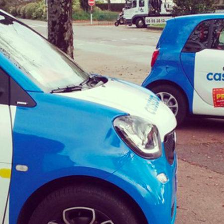 roadshow castorama affichage mobile street marketing Keemia Bordeaux Agence marketing local en region Aquitaine