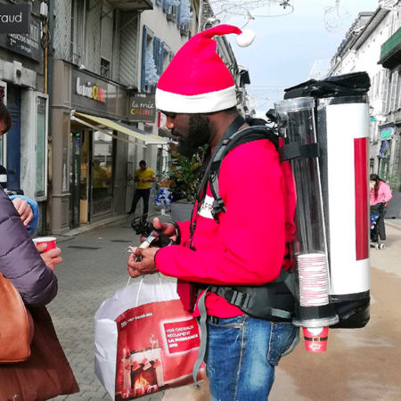 SFR street marketing Keemia Bordeaux Agence marketing local en region Aquitaine