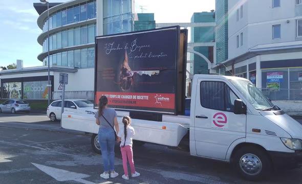 welfarm affichage mobile keemia agence marketing local en région aquitaine