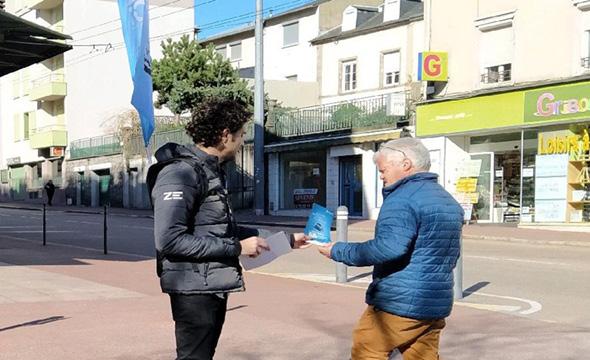 renault zoé street marketing keemia agence marketing locale en région aquitaine