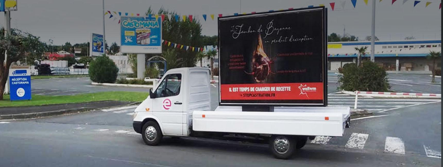 welfarm affichage mobile keemia bordeaux agence marketing local en région aquitaine