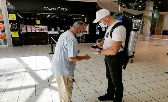Drink'man soldes d'été animation centre commercial - Keemia Bordeaux agence de marketing Local en région Aquitaine