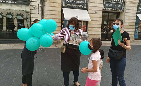Flyers street-marketing pour la Fabrique du style - Keemia Bordeaux région Aquitaine