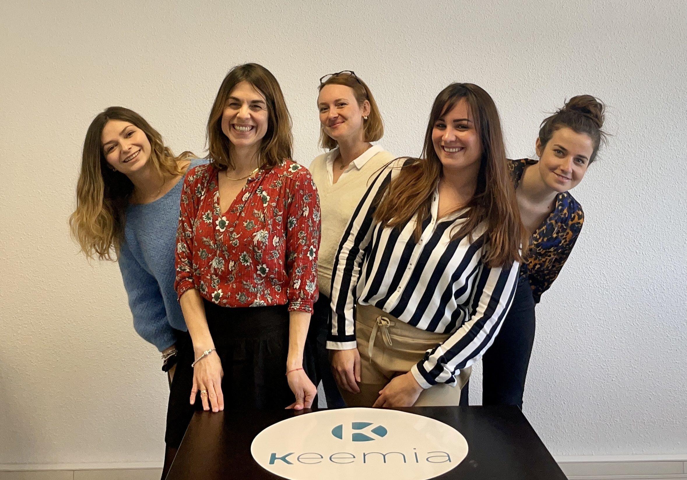 L'équipe Keemia Bordeaux Agence marketing local en region Aquitaine