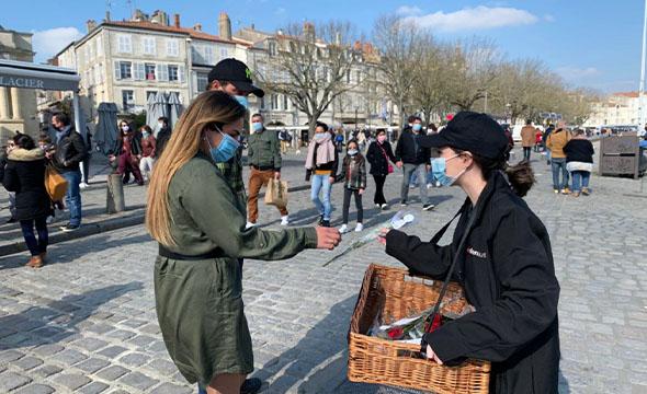 Street Marketing - Eden Auto avec Keemia Bordeaux agence locale de référence en région aquitaine