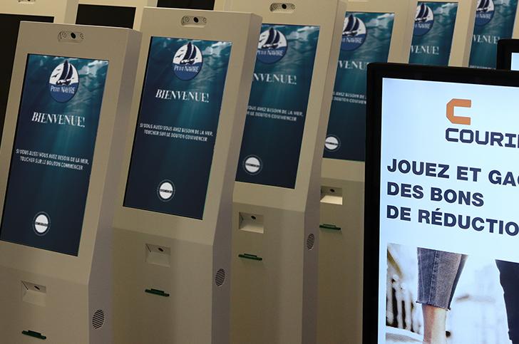 Parc de bornes - Keemia Bordeaux - Agence de Marketing Locale en Région Aquitaine