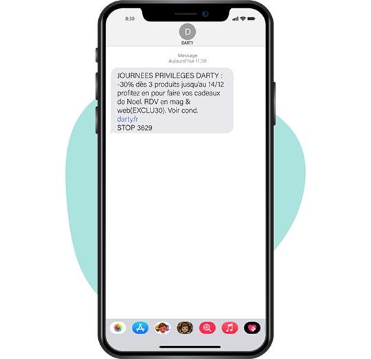 Intro offre SMS mobile - Keemia Bordeaux - Agence de Marketing Locale en Région Aquitaine
