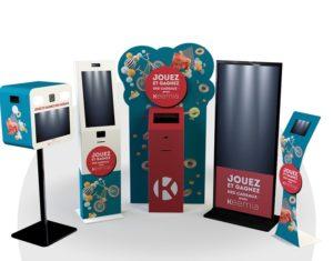 Location de bornes - Keemia Bordeaux agence de marketing locale en région Aquitaine