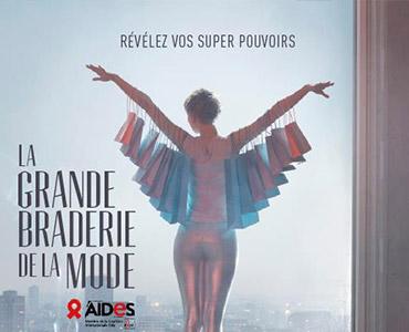 La Grande Braderie de la Mode by Aides - Keemia Communication OOH - Agence conseil et opérationnelle, Hors média & Solutions OOH