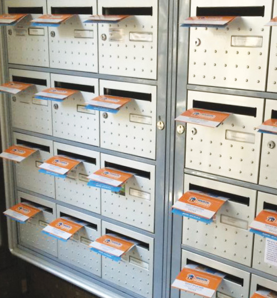 Distribution en BAL résidences étudiantes - Keemia Communication OOH et hors-media