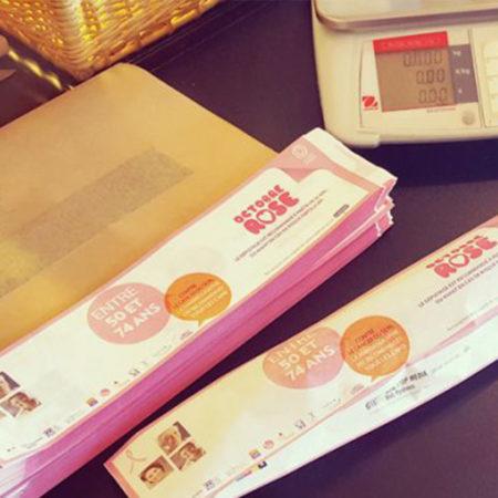 Des sacs à pain pour la CPAM - Keemia Communication OOH - Agence conseil et opérationnelle, Hors média & Solutions OOH