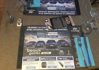Hyundai avec les bleus - Keemia Communication OOH - Agence conseil et opérationnelle, Hors média & Solutions OOH