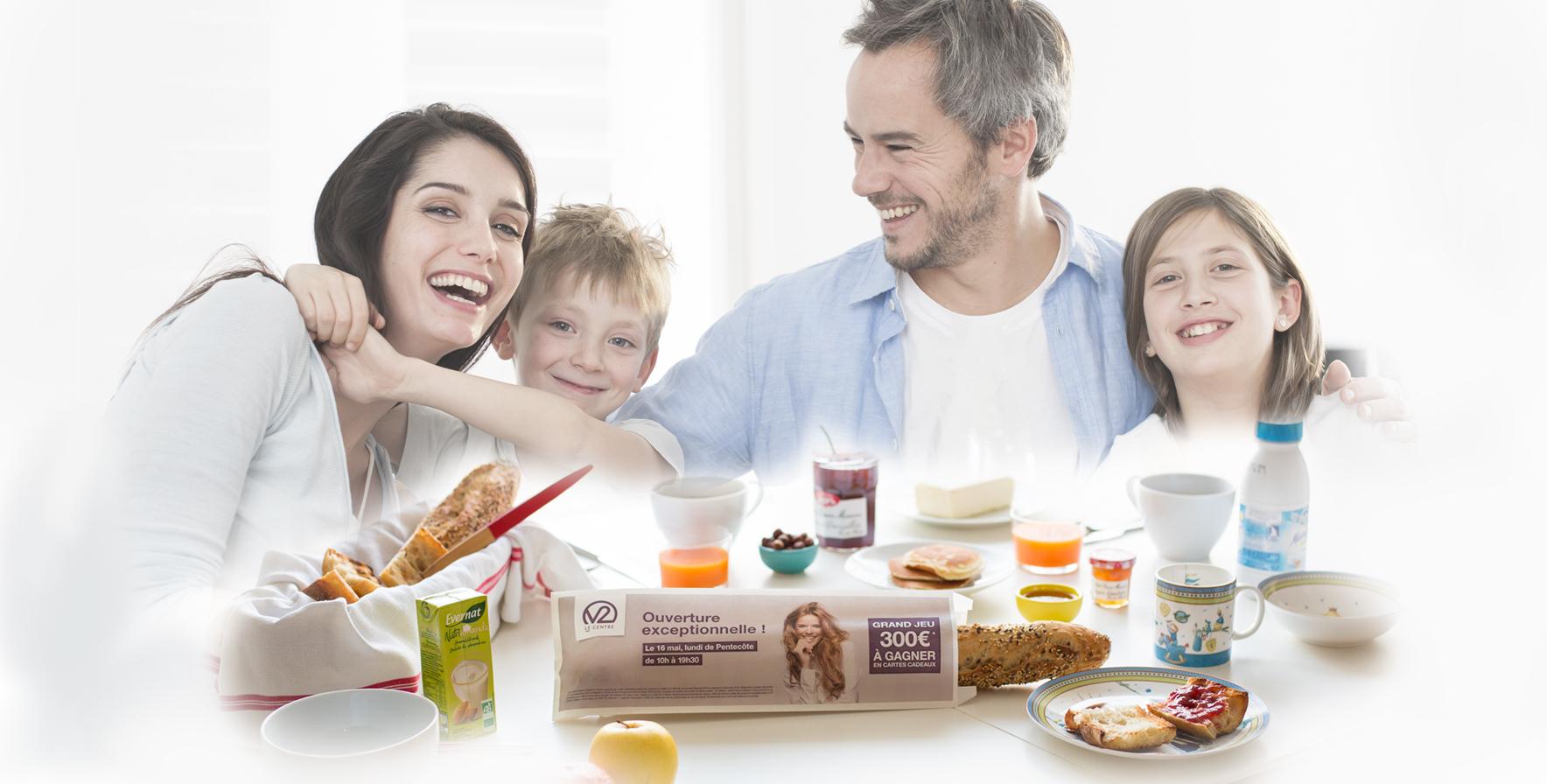 Sac à pain : le média de proximité par excellence - Keemia Communication OOH et hors-media