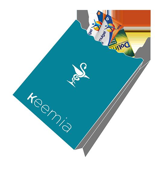 Sac à pharmacie publicitaire - Keemia communication OOH et hors media
