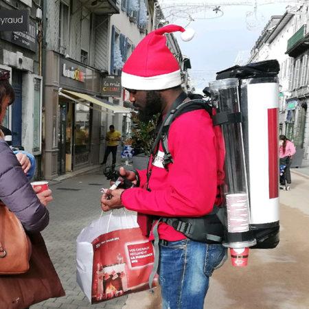 Drink'Com de Noël pour SFR - Keemia Communication OOH - Agence conseil et opérationnelle, Hors média & Solutions OOH