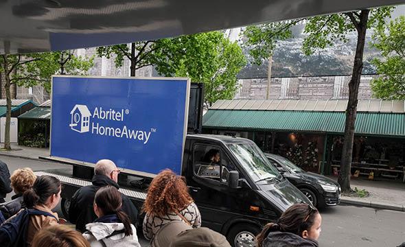 abriled street marketing affichage mobile agence keemia Paris