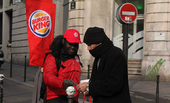burgerking street marketing agence keemia paris