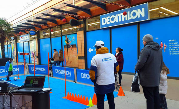 decathlon street marketing agence keemia Paris