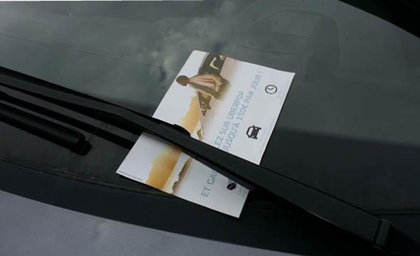 Uber street marketing agence keemia paris