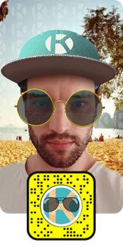 Lens 3D Experience immersive en réalité augmentée Snapchat - Keemia communication OOH et hors media