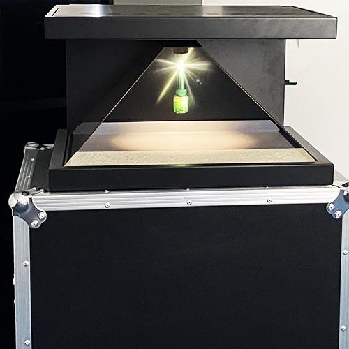 Borne Holographique - Keemia Digital - Digital Activation Factory
