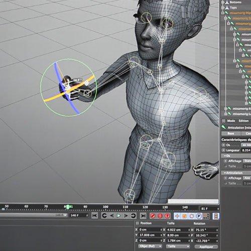 Design 3D - Keemia Digital - Digital Activation Factory