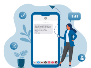 Offre SMS - Solutions digitales - Keemia Digital - Activation Digital Factory
