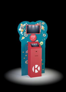 Borne PLV duo 22 - Keemia Digital - Activations digitales factory