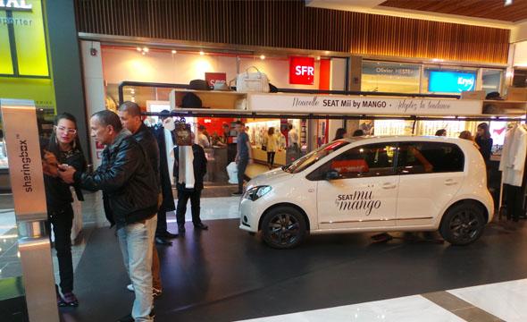 Seat Mii by Mango -Tournée evenementielle - Keemia Event et Expérience Agence événementielle et roadshow