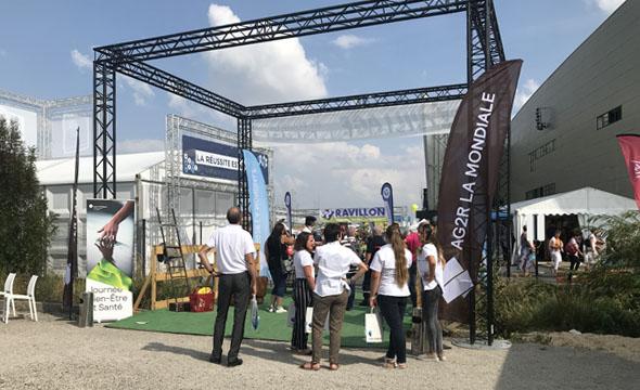 AG2R - Evénement B to B - Keemia Event et Expérience Agence événementielle et roadshow