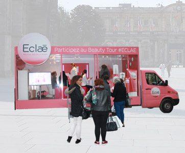 Camion Showroom mobile - Keemia Event et Expérience