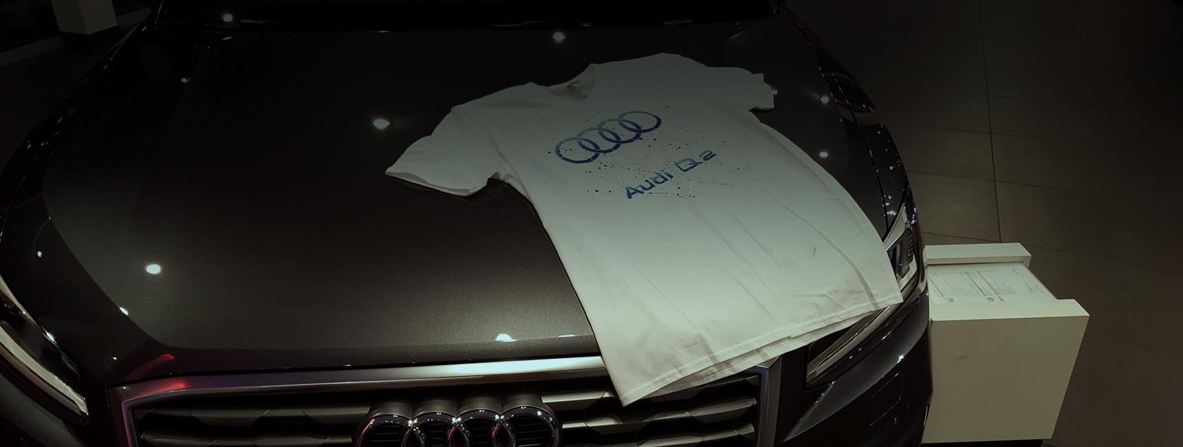 Lancement de produit Audi - Keemia Event et Expérience Agence événementielle et roadshow