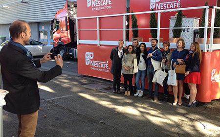 Tournée Nationale pour Nescafé - Keemia Event et Expérience Agence événementielle et roadshow