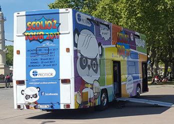 Le proteor Scolioz tour - Keemia Event et Expérience Agence événementielle et roadshow
