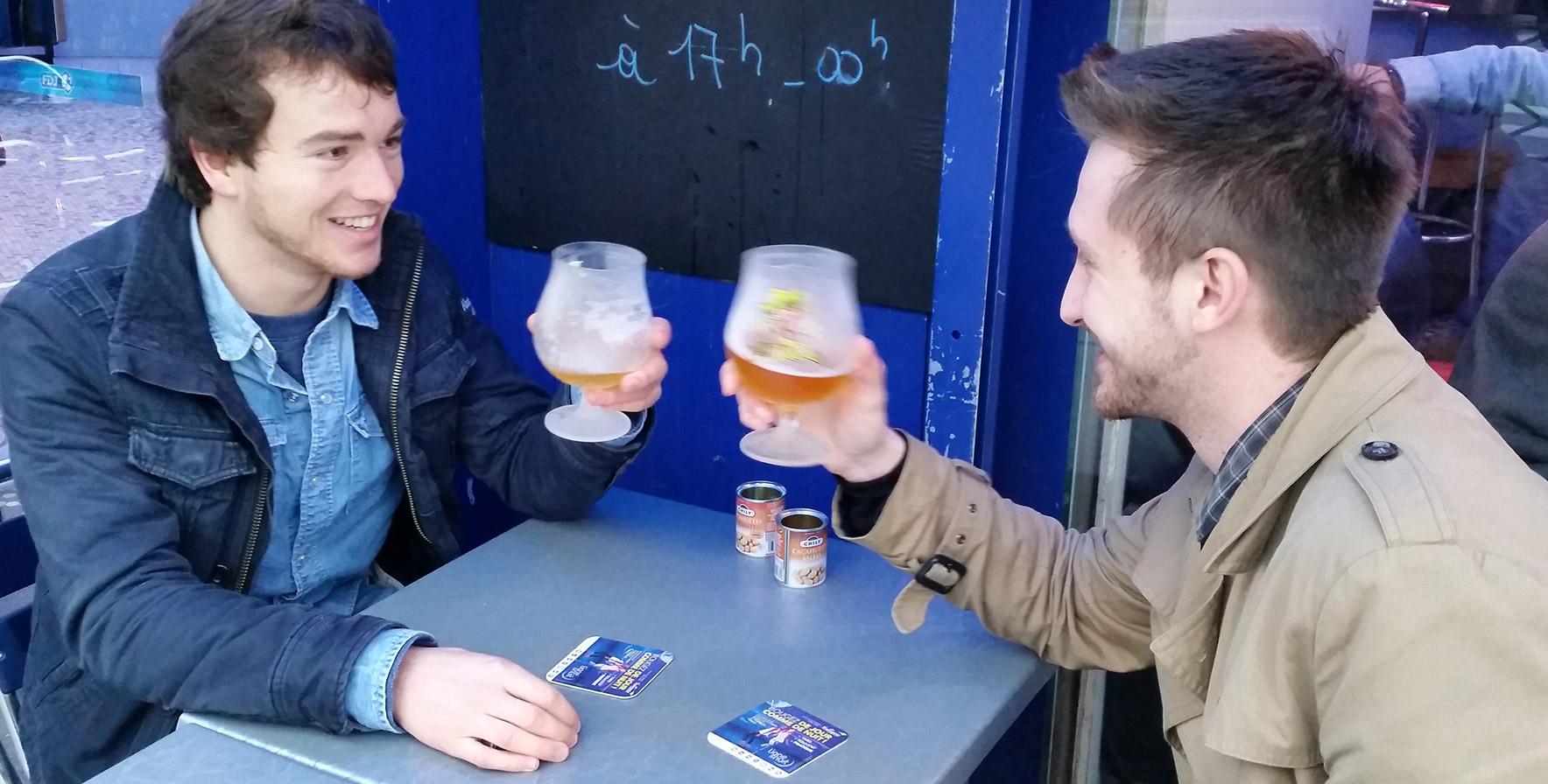 Sous-bocks publicitaires - Média tactique - Keemia Lille Agence marketing local en région Nord