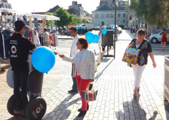 Segway Street Marketing Keemia Lille Agence marketing local en région Nord
