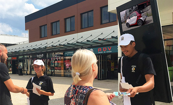 Smart street marketing Keemia Lille Agence marketing local en région Nord