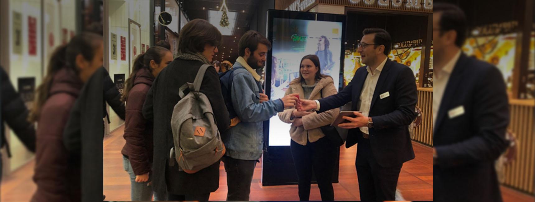 Westfield Euralille Animation Point de Vente - keemia Lille agence marketing locale en région Nord et Hauts de France
