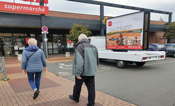 affich'mobile pour Nexity - Keemia Lille agence de marketing locale en région haut de france