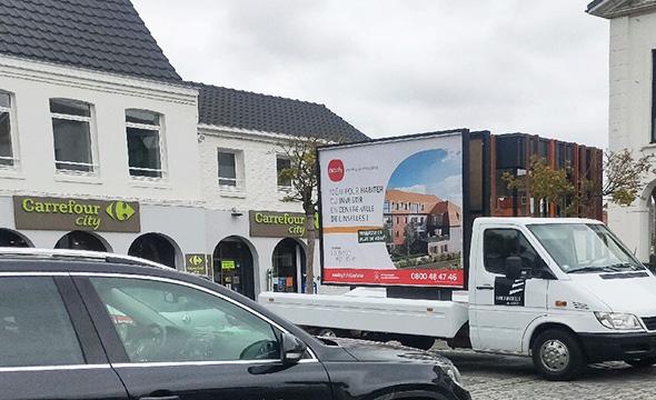 affich'mobile pour Nexity - Keemia Lille agence de marketing locale en région haut de france