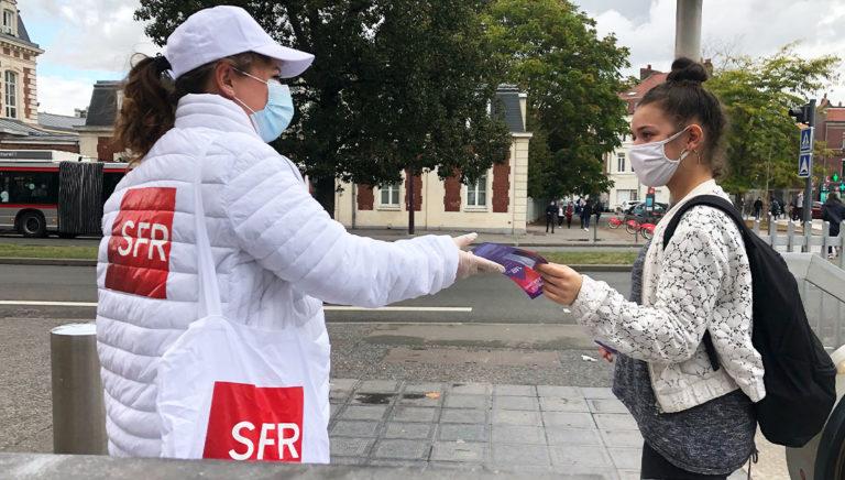 boites aux lettres- street marketing - Digital Display Mobile - Keemia Lille agence de marketing locale en région Haut de France