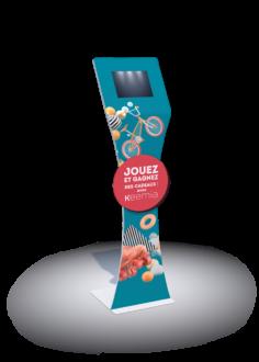 Borne interactive padee 10 - Keemia Lille - Agence de Marketing Locale en région Hauts de France