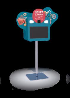 Borne interactive pixee 22 - Keemia Lille - Agence de Marketing Locale en région Hauts de France