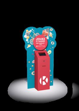 Borne interactive PLV 13 - Keemia Lille - Agence de Marketing Locale en région Hauts de France