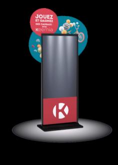 Borne interactive screeny 42 - Keemia Lille - Agence de Marketing Locale en région Hauts de France