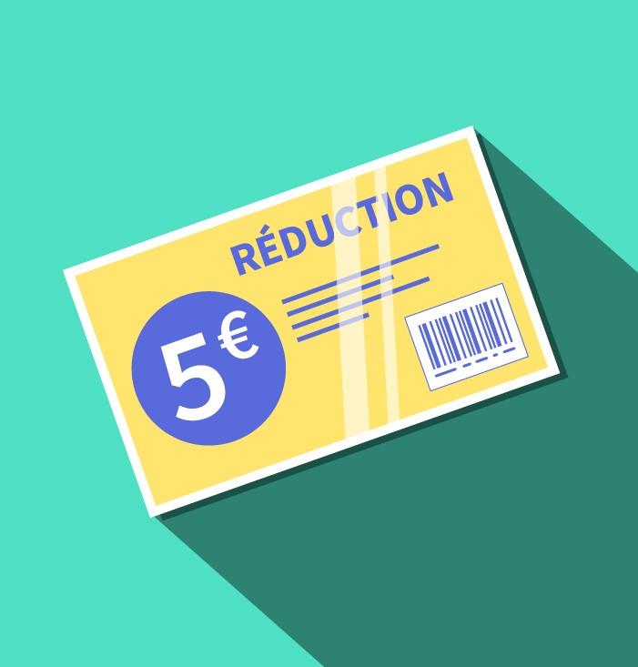 Bon de réduction - Keemia Lille - Agence de Marketing Locale en région Hauts de France