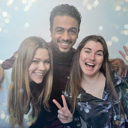 Borne photo effet et filtre - Keemia Lille - Agence de Marketing Locale en région Hauts de France